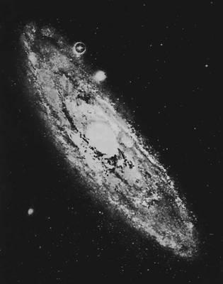 Галактика в созвездии Андромеды. Галактика.