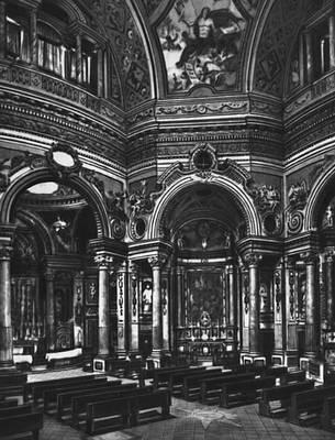 Гварини Гварино Гварини. Церковь Сан-Лоренцо в Турине. 1668—87. Интерьер. Гварини Гварино.