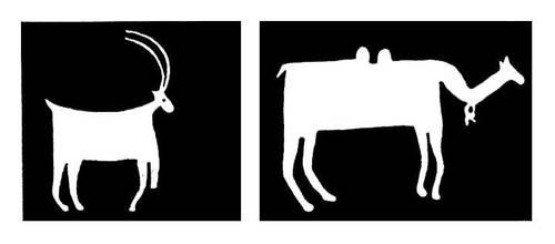 Образцы росписи народного жилища. Западный Памир. Горно-Бадахшанская автономная область.