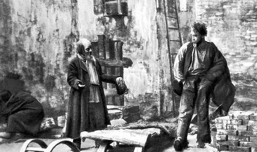 «На дне». Сцена из спектакля МХТ. 1902. Горький Максим.