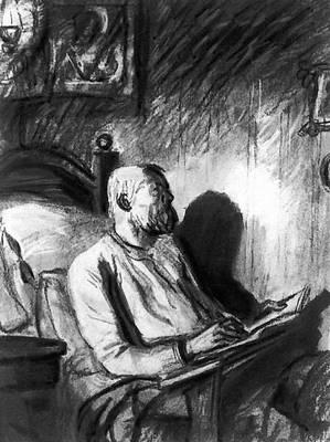 «Жизнь Матвея Кожемякина». Илл. Д. А. Шмаринова. 1936. Горький Максим.
