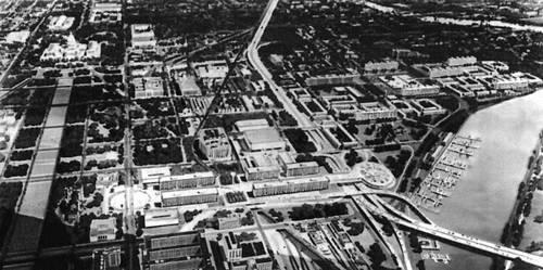 Вашингтон. Проект реконструкции юго-западного района города. 1950-е гг. Градостроительство.