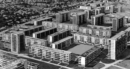 Клуж (Румыния). Жилой район Георгиени. 1960-е гг. Градостроительство.