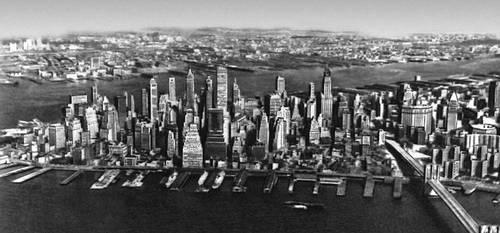 Застройка острова Манхаттан в Нью-Йорке. Конец 19—20 вв. Градостроительство.