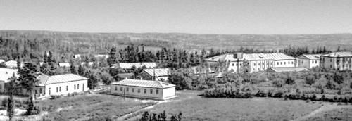 Посёлок центральной усадьбы колхоза им. А. А. Жданова Гиссарского района Таджикской ССР. Деревня.