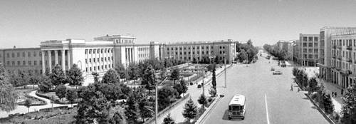Душанбе. Проспект Ленина. Душанбе.
