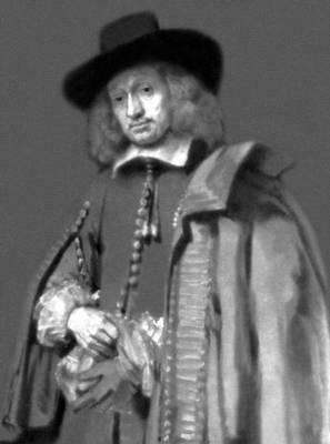 Рембрадт. Портрет Яна Сикса. 1654. Собрание Сикса. Амстердам. Живопись.