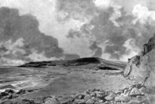 Дж. Констебл. «Бухта близ Уэймута». 1827. Лувр. Париж. Живопись.