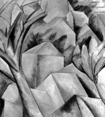 Живопись Брак. «Эстак». 1908. Художественный музей. Берн. Живопись.