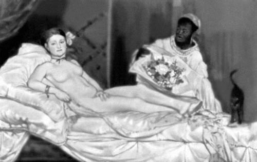 Э. Мане. «Олимпия». 1863. Музей импрессионизма. Париж. Живопись.
