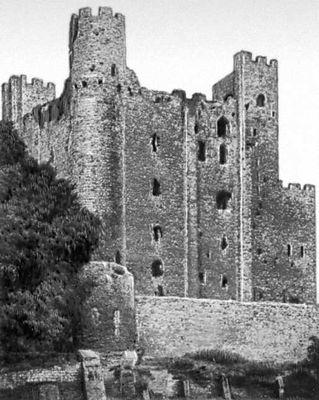 Замок в Рочестере (Англия). Около 1226—37. Замок (укрепленное жилище феодала).