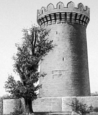 Абд аль-Меджид, сын Масуда. Замок в Мардакяне (Азербайджанская ССР). 1232. Замок (укрепленное жилище феодала).
