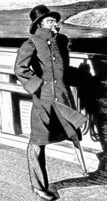 Р. Кент. Илл. к роману Г. Мелвилла «Моби Дик, или Белый кит». Гравюра на дереве. Нью-Йорк. 1930. Иллюстрация.