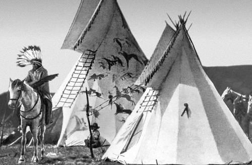 Типи индейцев прерий (север США). Индейцы.