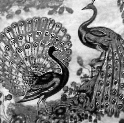 Набойка. Хлопчатобумажная ткань. Бенгалия. 18 — 19 вв. Индия.