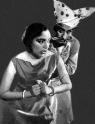 Сцена из спектакля «Глиняная повозка» Шудраки. «Хиндустани-тиэтр». Дели. Индия.