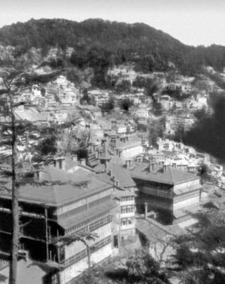 Симла. Вид части города. Индия.