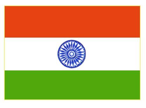 Флаг государственный. Индия. Индия.