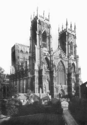 Йорк (Великобритания). Собор. 1070—1470. Йорк (город в Великобритании).