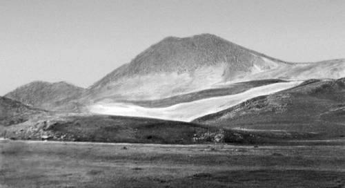 Один из вулканов северной части Самсарского хребта в Джавахетско-Армянском нагорье. Кавказ.