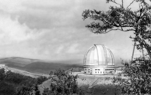 Зеленчукская астрофизическая обсерватория. Карачаево-Черкесская автономная область.