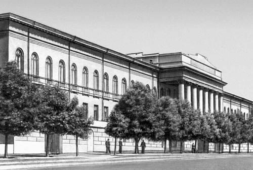 Киев. Университет. 1837—43. Архитектор В. И. Беретти. Киев.