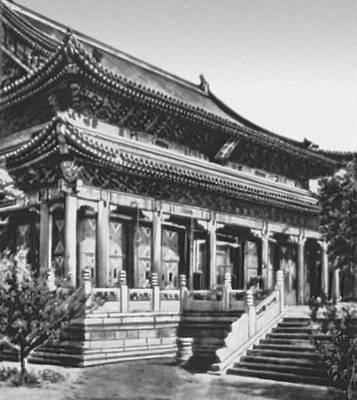Летний дворец в парке Ихэюань в Пекине. 1644—1911. Китай.