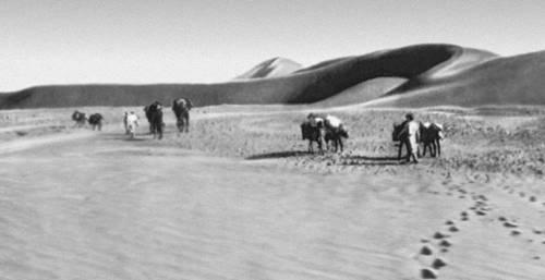 Пустыня Такла-Макан на западе страны. Китай.