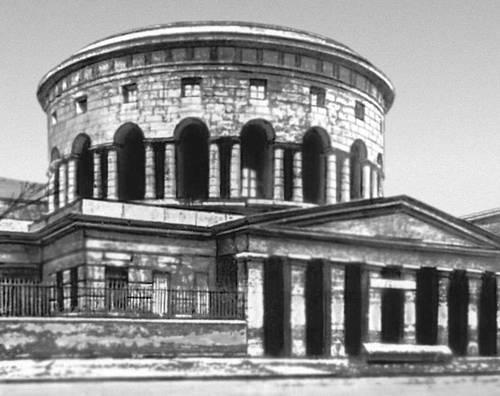 Н. Леду. Застава Ла-Виллет в Париже. 1785—89. Классицизм.