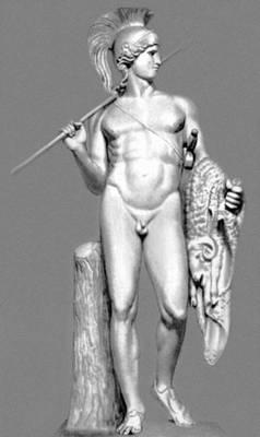 Б. Торвальдсен. «Ясон». Мрамор. 1802—03. Музей Торвальдсена. Копенгаген. Классицизм.