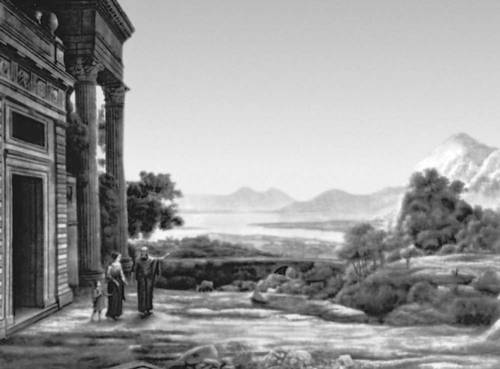 Классицизм Лоррен. «Изгнание Агари». 1668. Старая пинакотека. Мюнхен.