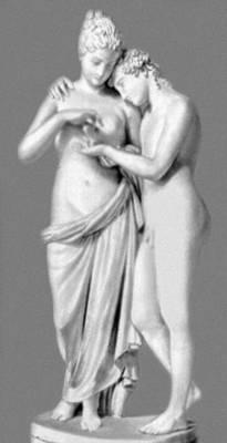 А. Канова. «Амур и Психея». Мрамор. 1793. Лувр. Париж. Классицизм.