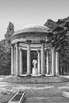 Р. Мик. «Храм любви» в пейзажном парке Версаля. 2-я половина 18 в. Классицизм.