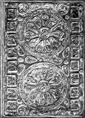 Переплёт средневековой рукописной книги. Книга.
