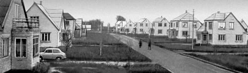 Посёлок колхоза «Шеймяна» Вилкавишкского р-на Литовской ССР. Колхозы.