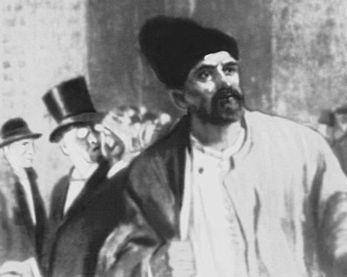 В. Г. Короленко. «Без языка» (Киев, 1950). Рисунок В. С. Слыщенко. Короленко Владимир Галактионович.