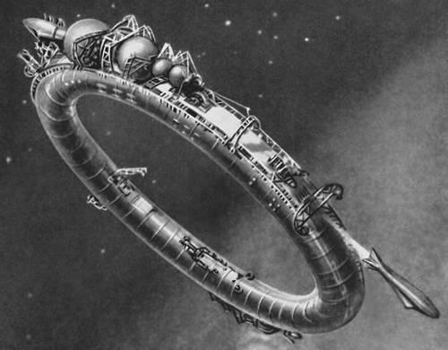 Стационарная орбитальная станция (проект). Космонавтика.