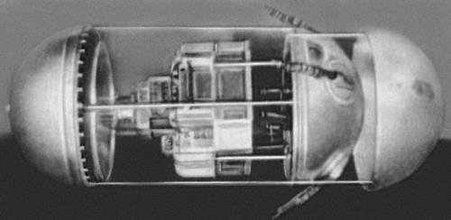 Первый советский искусственный спутник Земли (макет). Космонавтика.