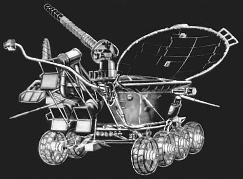 «Луноход 1». Космонавтика.