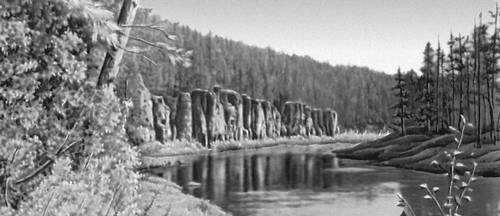 Река Верхняя Чунку. Красноярский край.