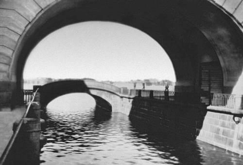 Ленинград. Набережная Зимней канавки и Эрмитажный мост (1763—66). Ленинград.