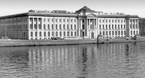Академия художеств. 1764—88. Архитекторы А. Ф. Кокоринов, Ж. Б. М. Валлен-Деламот. Ленинград.