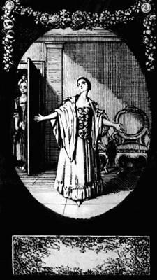 Г. Э. Лессинг. «Минна фон Барнхельм». Илл. Д. Н. Ходовецкого (офорт, 1769). Лессинг Готхольд Эфраим.
