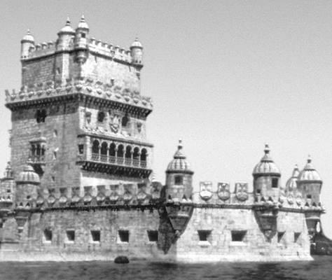 Лисабон. Башня-маяк Торри ди Белен. 1515—20. Архитектор Ф. ди Арруда. Лисабон.