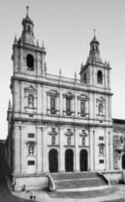 Лисабон. Церковь Сан-Висенти ди Фора. 16—17 вв. Архитекторы Ф. Терци и др. Лисабон.
