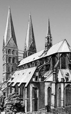 Любек. Церковь Мариенкирхе. Ок. 1270—1350. Любек.