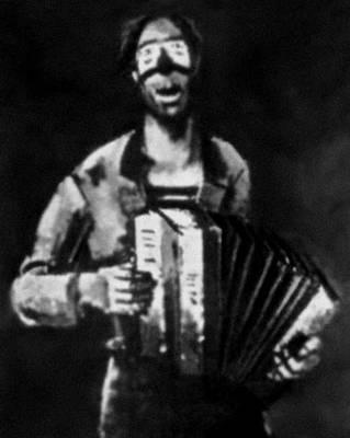 Й. Куттер. «Клоун» (из цикла «Клоуны»). 1936—37. Частное собрание. Люксембург. Люксембург (государство).
