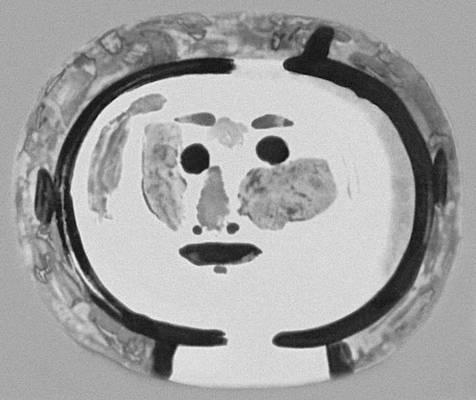 П. Пикассо (Франция). Блюдо. Майолика. 1962. Майолика.