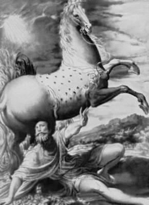 Никколо дель Аббате. «Обращение Павла». Ок. 1555. Художественно-исторический музей. Вена. Маньеризм.