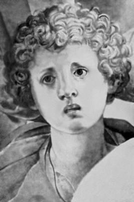 Понтормо. «Положение во гроб». 1526—28. Церковь Санта-Феличита. Флоренция. Фрагмент. Маньеризм.